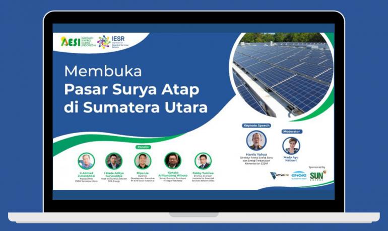 Membuka Pasar Surya Atap di Sumatera Utara
