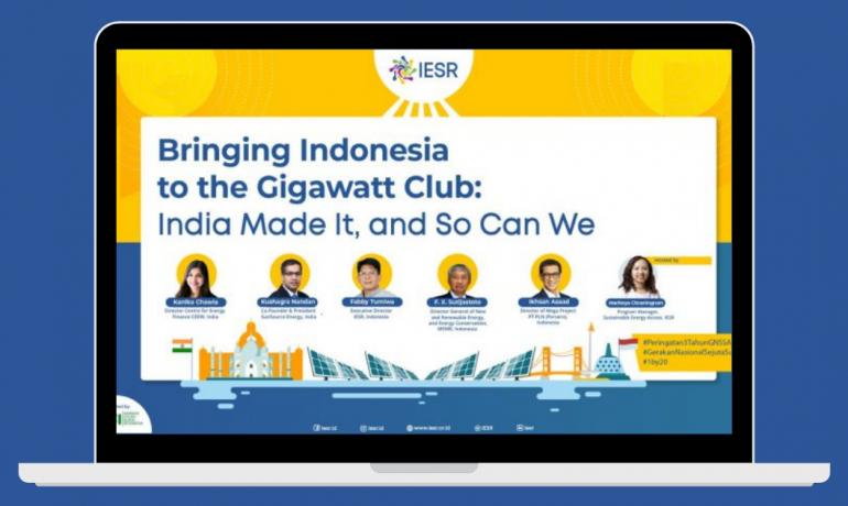 Indonesia Belajar dari India yang Ambisius Capai 200 GW Energi Surya di 2022
