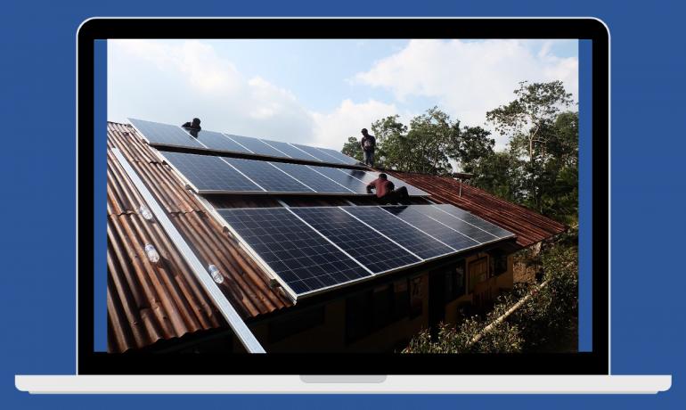 Membangun Indonesia dengan Energi Surya